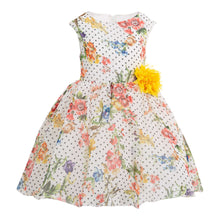 Load image into Gallery viewer, POLIN GIRLS FLORAL DRESS
