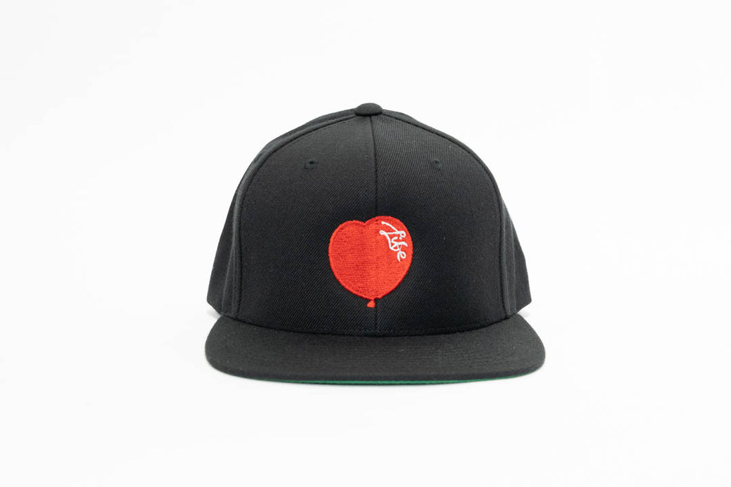 Black Essential Snapback