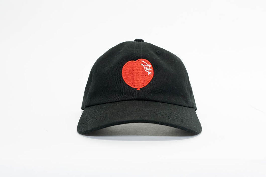 Black Essential Dad Hat