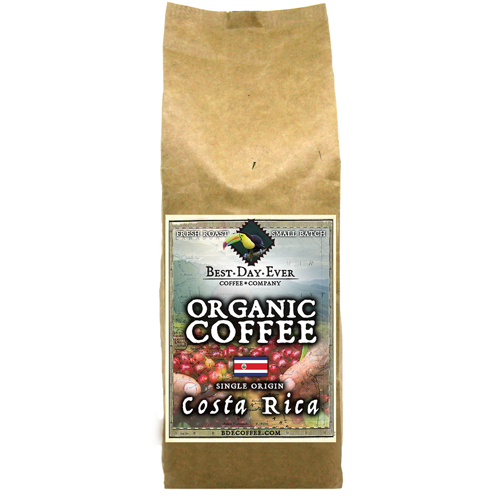 Costa Rica Organic - Best Day Ever Coffee