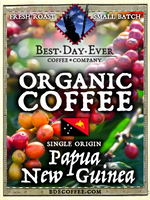 Papua New Guinea Organic - Best Day Ever Coffee