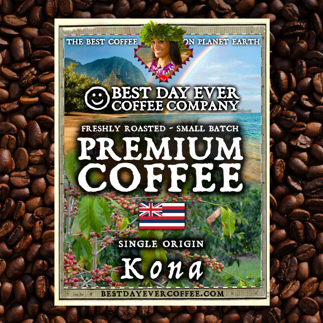 Kona - Premium Coffee | 12oz
