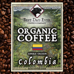Colombia Organic - Best Day Ever Coffee