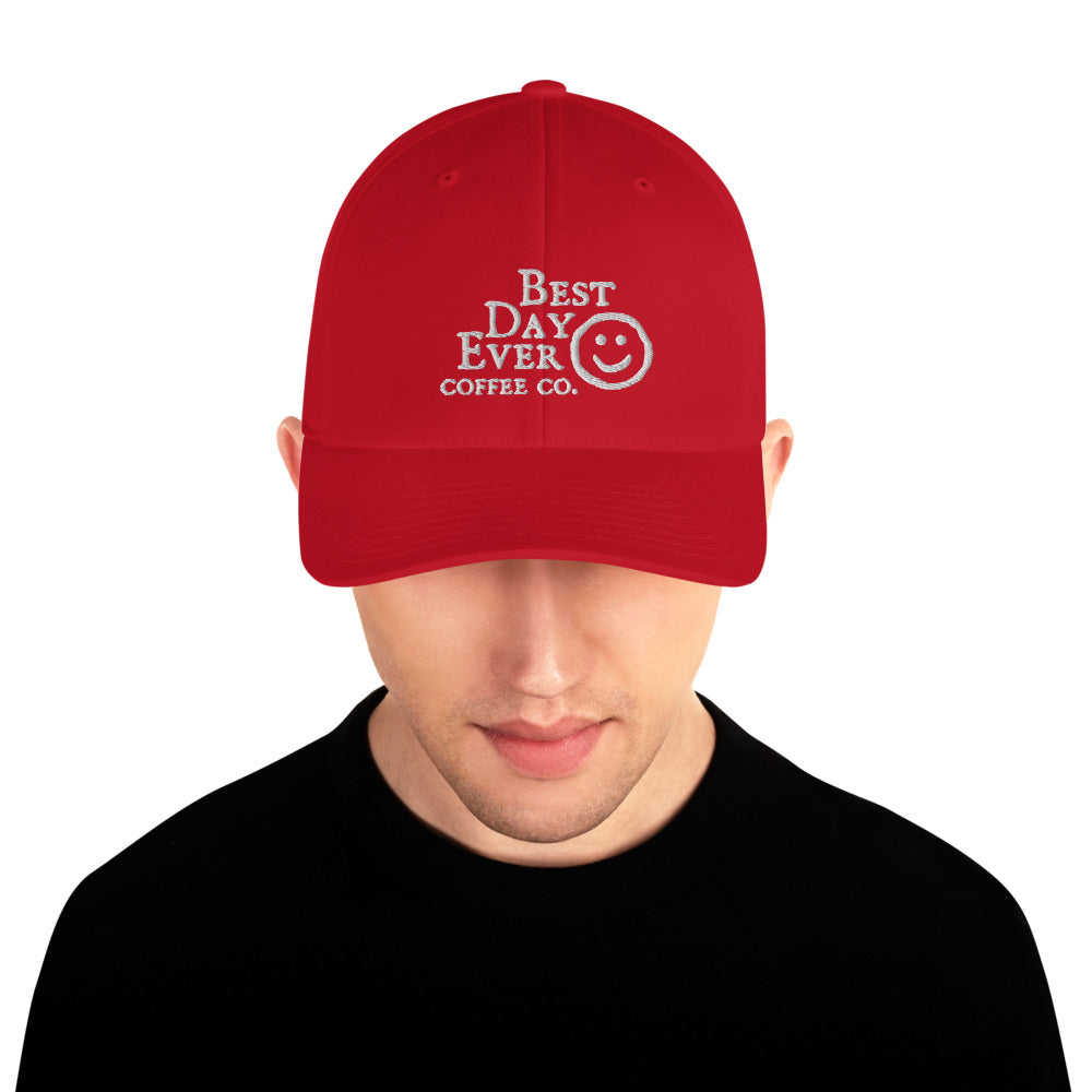 Best Day Ever Structured Twill Cap
