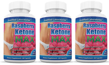 Load image into Gallery viewer, Raspberry Ketone Max 1200mg Proprietary Formula 60 Capsules
