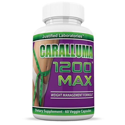 Caralluma 1200 Max Weight Loss  Appetite Control, Fat Reduction All Natural 1200MG