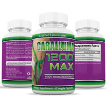 Load image into Gallery viewer, Caralluma 1200 Max Weight Loss  Appetite Control, Fat Reduction All Natural 1200MG