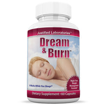 Load image into Gallery viewer, Dream and Burn Weight Loss and Sleeping Aid All Natural Collagen Sleep Aid 60 Capsules