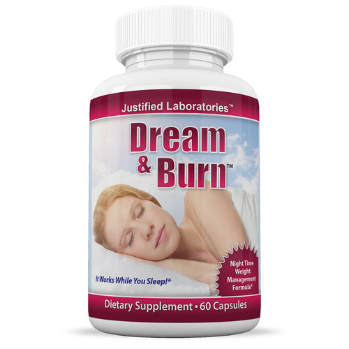 Dream and Burn Weight Loss and Sleeping Aid All Natural Collagen Sleep Aid 60 Capsules