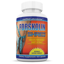 Load image into Gallery viewer, Pure Forskolin  Shred Coleus Forskohlii Root Extract 125mg Diet Weight Loss