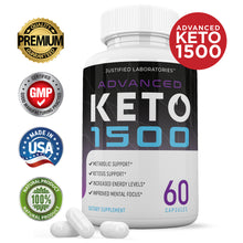 Load image into Gallery viewer, Advanced Keto 1500 Pills