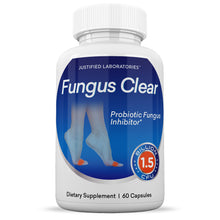 Load image into Gallery viewer, Fungus Clear 1.5 Billion CFU Probiotic Pills Supports Strong Healthy Natural Clear Nails Plus Eliminates Fungus 60 Capsules