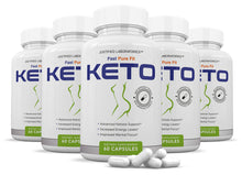 Load image into Gallery viewer, Fast Fit Pure Keto Pills Advanced Ketogenic Supplement Includes goBHB Exogenous Ketones Ketosis Support for Men Women 60 Capsules