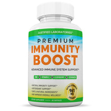 Load image into Gallery viewer, Premium Immunity Boost Supplement Pills Includes Elderberry Vitamin C Echinacea Zinc Garlic Bulb Advanced Immune System Booster Powerful Antioxidant Supports Overall Wellness 60 Capsules