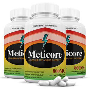 Meticore Metabolism Control Advanced Weight Loss Diet Pills Supplement 60 Capsules