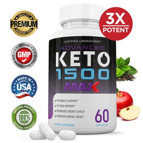 3 X Stronger Advanced Keto 1500 Max 1200MG
