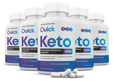 Load image into Gallery viewer, Quick Keto Advanced goBHB Ketogenic Supplement Ketosis Support for Men Women 60 Capsules