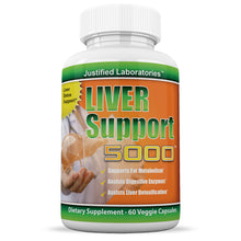 Load image into Gallery viewer, Liver Support Supplement Milk Thistle Natural Antioxidant Detoxification 60 Caps
