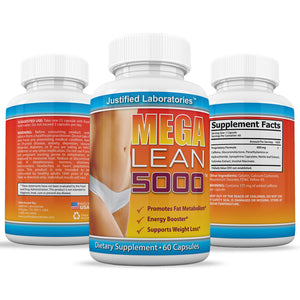 Mega Lean 5000  Thermogenic Fat Burner Weight Loss Diet Pills