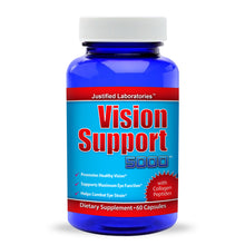 Load image into Gallery viewer, Vision Support 5000 Eye Supplement Vitamin Lutein Promotes Healthy Vision 60 Capsules