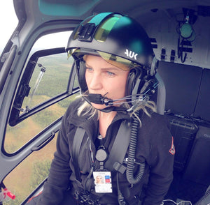 Getting to know Norwegian helicopter pilot Sunniva