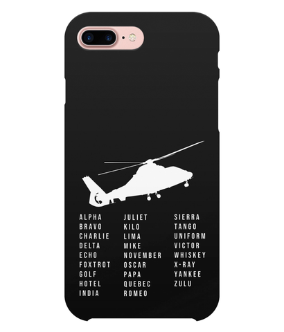 iPhone 7 Plus Full Wrap Case Alpha Bravo Charlie