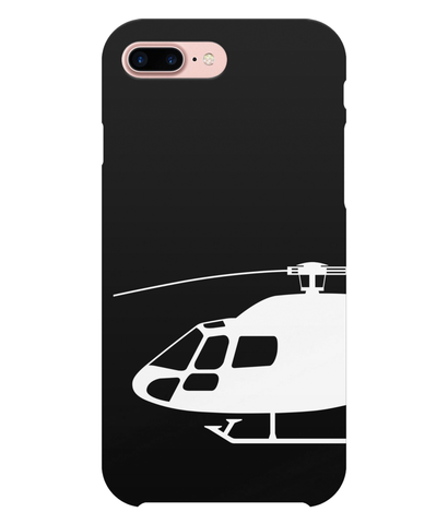 iPhone 7 Plus Full Wrap Case Silhouette White