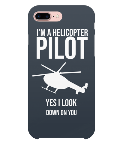 iPhone 7 Plus Full Wrap Case Helicopter Pilot