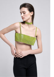 Nué Charlotte Top Lime Green