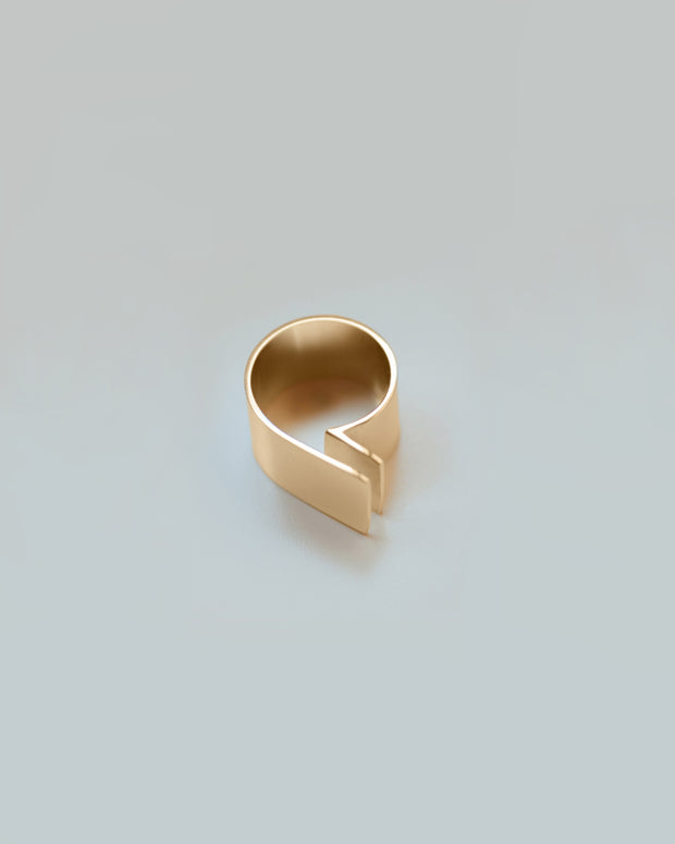 Gold Modular Ring No.2