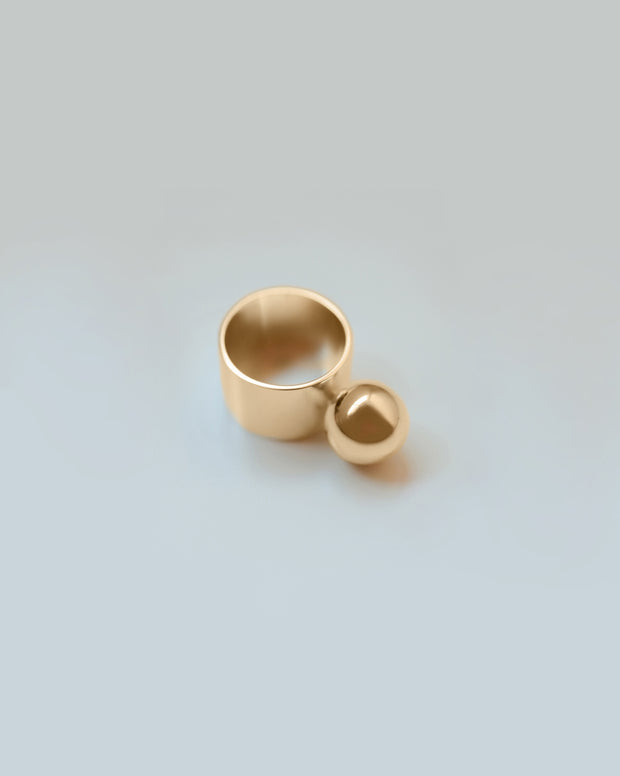 Gold Modular Ring No.5