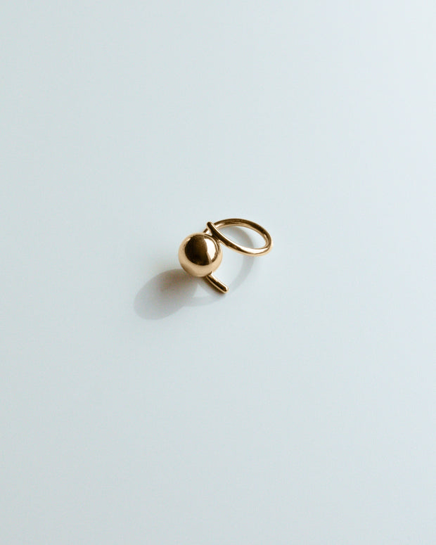 Gold Sputnik Ring