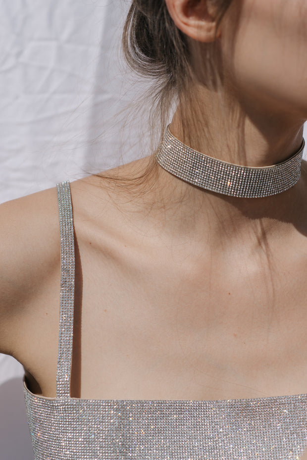 Nué Charlotte Chocker Crystal