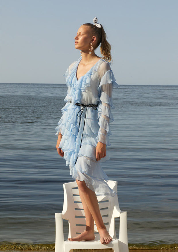 Jellyfish Midi Dress