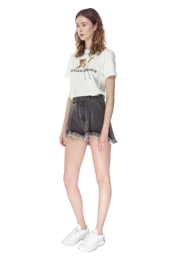 Fringed Shorts
