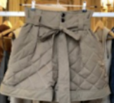 W11 - WSS20TRS009CN Quilted shorts