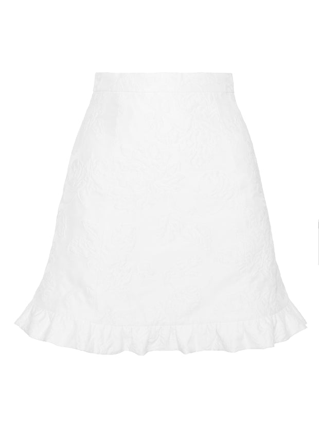 Mini Taffeta Baby-Doll Skirt