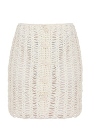 Knitted Lace Skirt