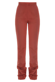 Long Brick Pants With Snaps