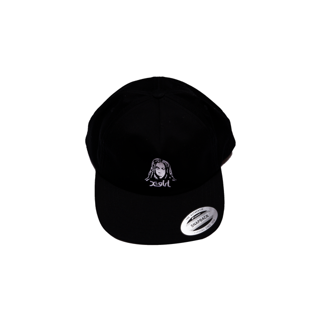 COOKIE SNAP BACK-BLACK-ONE SIZE