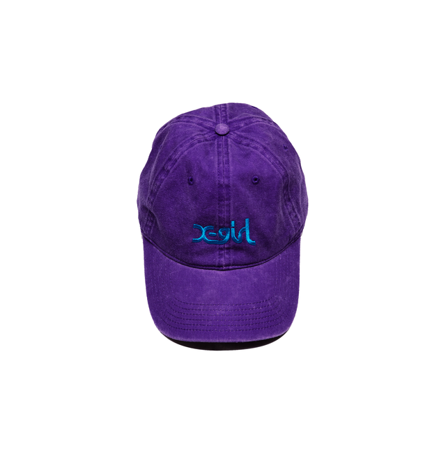 LOGO DAD CAP-PURPLE-ONE SIZE
