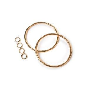 Janis Gold Hoop Handle