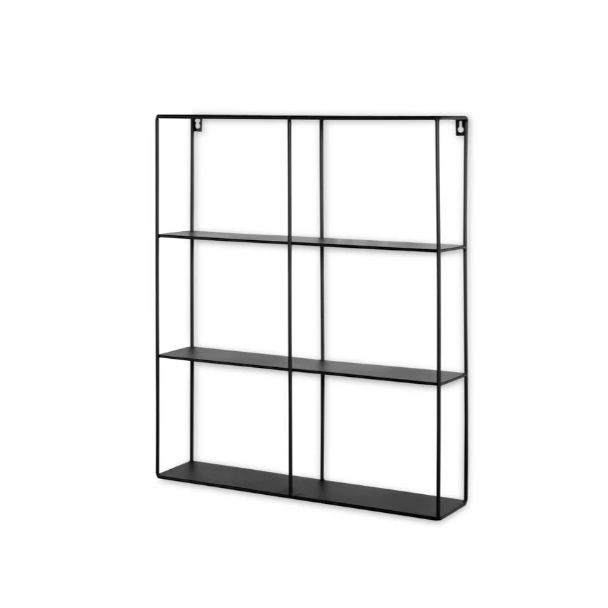 Image of Lifa Living Hylde Metal Sort Firkant 50x60x11cm