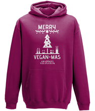 Load image into Gallery viewer, Vegan Merry Vegan-mas - Hoodie