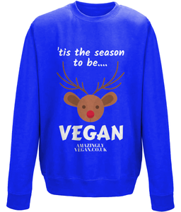 "Vegan ""tis the season"" - Sweatshirt"