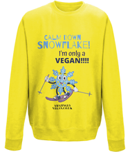 Load image into Gallery viewer, Vegan Calm down - Sweatshirt