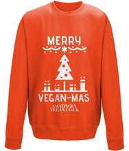 Load image into Gallery viewer, Vegan Merry Vegan-mas - Sweatshirt