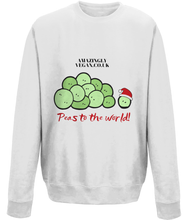 Load image into Gallery viewer, Vegan Peas to the world - Sweatshirt