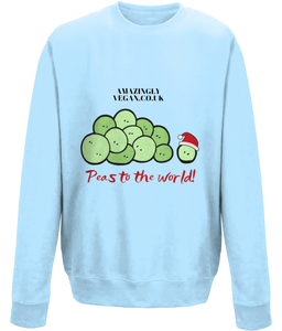 Vegan Peas to the world - Sweatshirt
