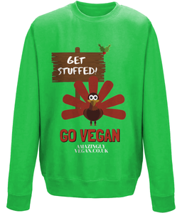 Vegan Get Stuffed - Sweatshirt
